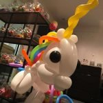 Unicorn ballonfiguur