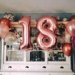 Foliecijfers 18 verjaardag heliumballonnen