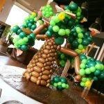 Geldboom ballonnen ballonfiguur