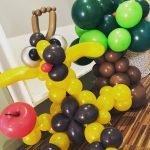 Giraffe ballonfiguur