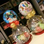 Stufferballon kerst