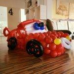 Cars Lightning McQueen ballondecoratie