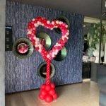 Fotoframe hart ballonnen