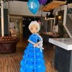 Elsa Frozen ballonfiguur